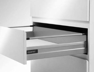 Smart Box Drawer With Single Gallery Railing