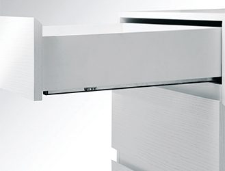 Push-Open Full Extension Soft Close Drawer