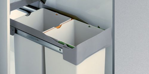 Pull-Out Double Waste Bin